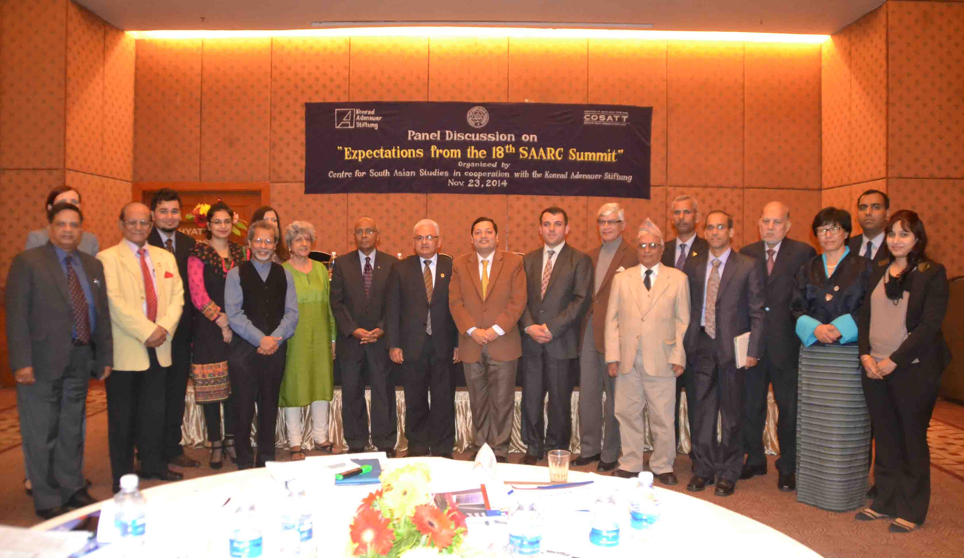 CSAS-COSATT Panel Discussion on Expectations from the 18th SAARC Summit